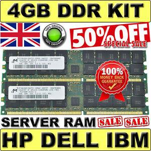 Server-RAM-4GB-kit-358349-B21-HP-2GB-PC2700R-MEMORY-MODULES-GAURANTEED-100