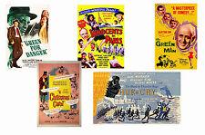 ALASTAIR SIM - SET OF 5 - A4 FILM POSTER PRINTS # 1