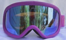 Electric Charger Purple Silver Mirror Mens Ski Snowboard Goggles