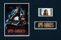 Collectable Army of Darkness  Movie Mini Filmcell