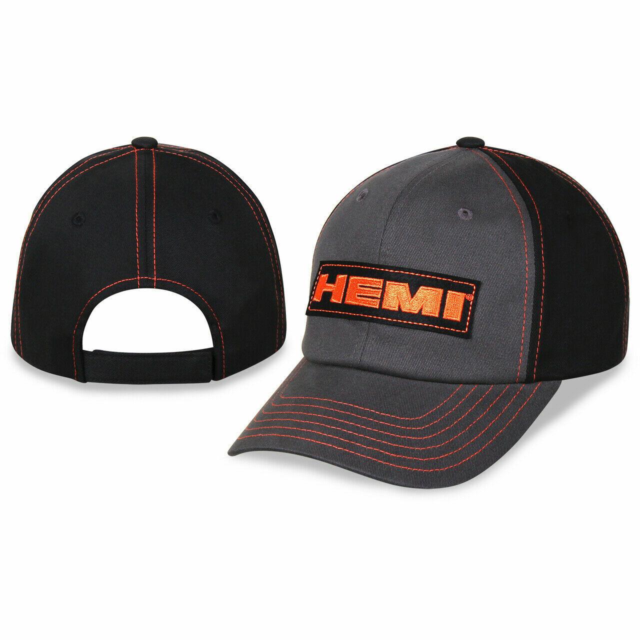 HEMI Basecap, original lizenziert bestickt Mütze MOPAR Chrysler Dodge Kappe RAM