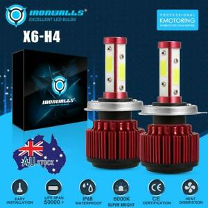 H4-9003-160W-19200LM-COB-LED-Headlight-Globes-Bulbs-Kits-High-Low-Beam-6000K
