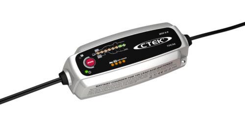 Chargeur batterie moto CTEK MXS 5A 12V de 1.2-100ah garantie 5ans avec sonde