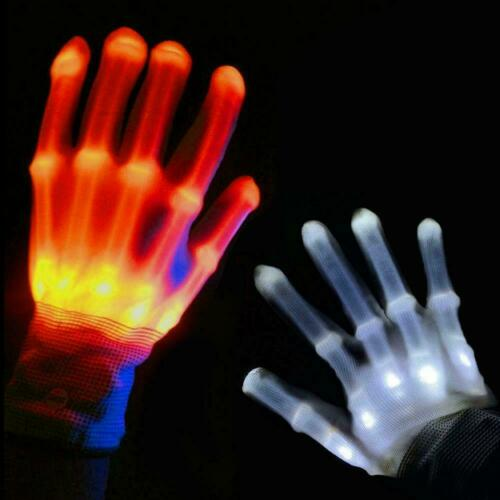 LED Gloves Light Up Kids Toys Boys Girls For Age 5 7 9 Fun 10 Trick 8 Years I5M8