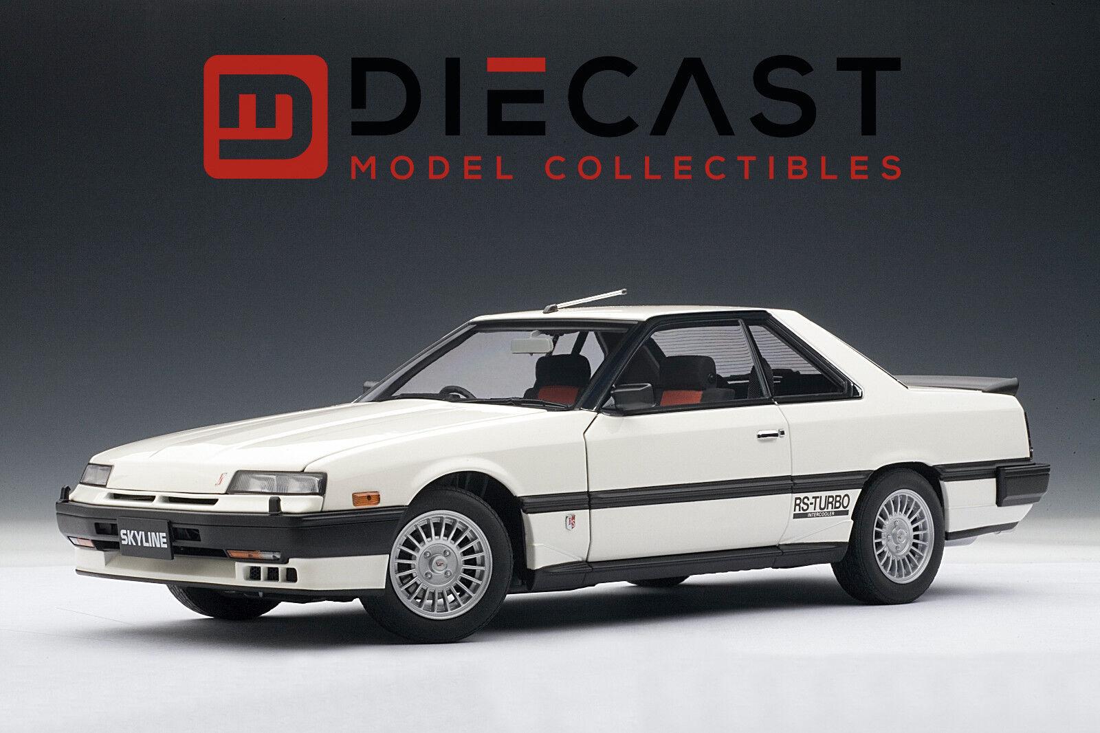 80% di sconto AUTOart 77427 77427 77427 Nissan cieloline Hardtop 2000 Turbo Intercooler RS.X,DR30,bianca 1 18  fino al 65% di sconto