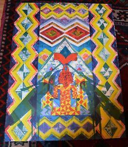 AfriCOBRA LITHOGRAPH 1994 20/70 James Phillips African American Artist 21.5x29