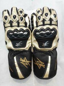 SUZUKI-HAYABUSA-Motorbike-Leather-Glove-XS-S-M-L-XL-2XL