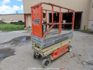 2005-JLG-1930ES-19-039-Electric-Scissor-Lift-Man-Aerial-Platform-24V-bidadoo