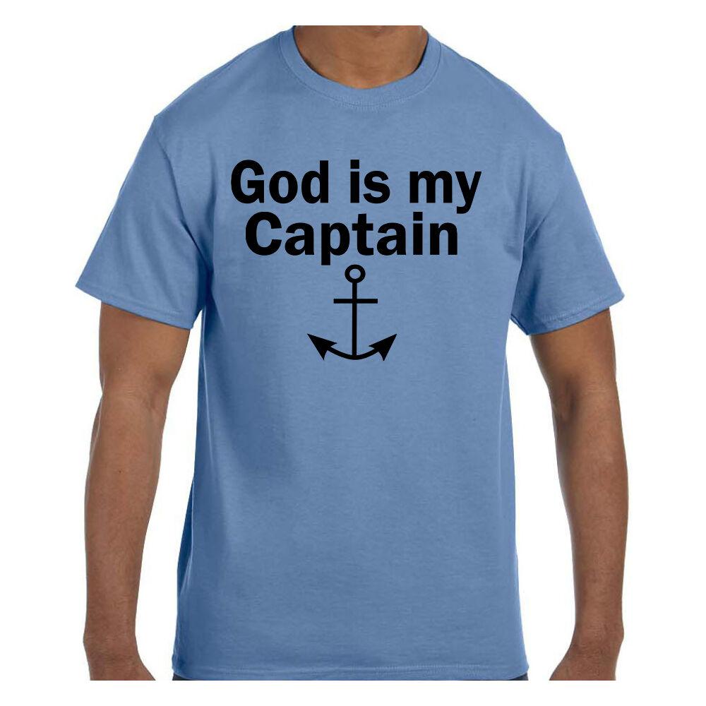 God Is My Anchor Men/'s T-Shirt