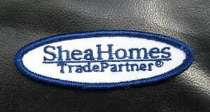 SHEA-HOMES-EMBROIDERED-PATCH-TRADE-PARTNER-REAL-ESTATE-ADVERTISING-3-034-x-1-034