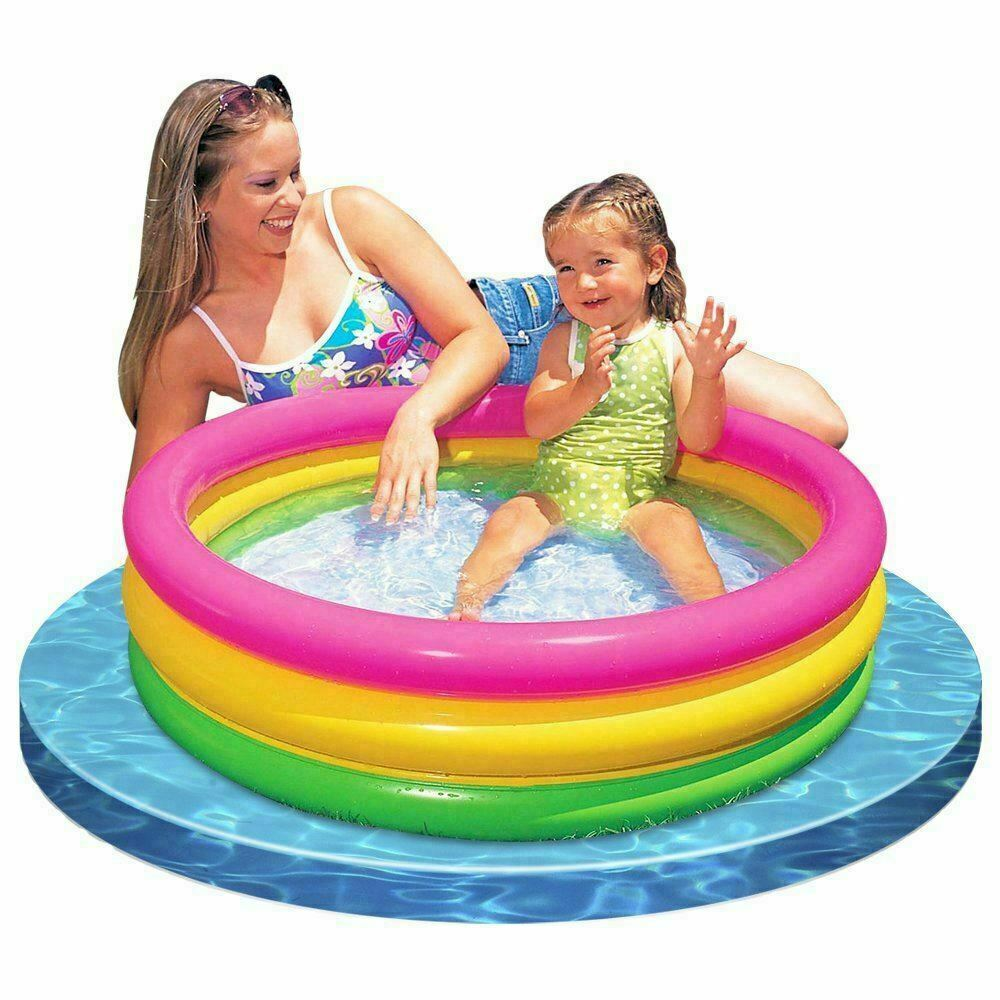 INTEX Paddling Pool Kids Childrens Inflatable Swimming Summer Garden 61x22cm