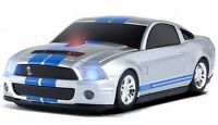 Road Mice Ford Mustang Shelby Gt500 Car Wireless Mouse, Silver