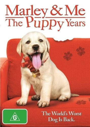 1 of 1 - Marley & Me - The Puppy Years - New/Sealed DVD Region 4