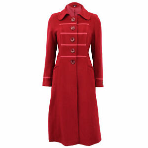 Ladies-Wool-Cashmere-Coat-Womens-Jacket-Outerwear-Trench-Overcoat-Winter-Warm