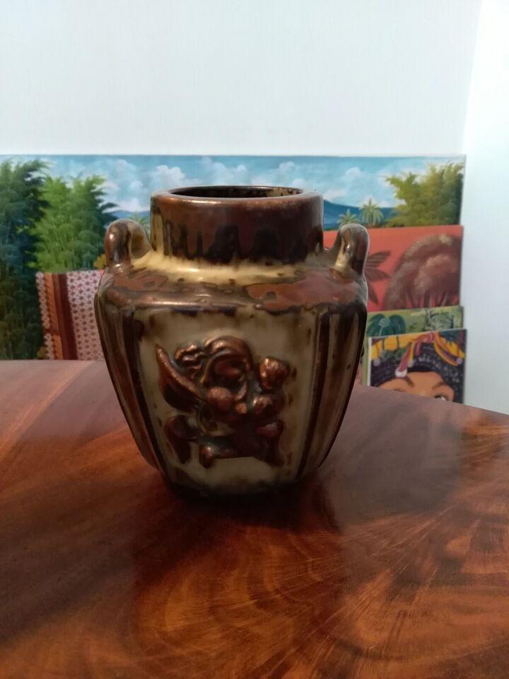 Stentøj, Fin Bode Willumsen vase for Royal Copenhagen