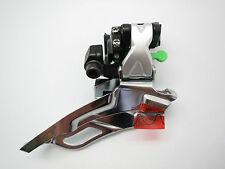 New Shimano Deore XT FD-M771-10 10 Speed 34.9mm Front Derailleur (Black) 31.8mm