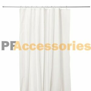 Details About 70 X 72 Inch Vinyl Magnetized Shower Curtain Liner Frosted White W 3 Magnets
