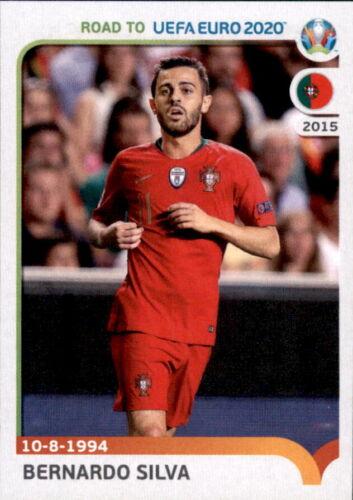 Sticker 239 Portugal Bernardo Silva Road to EM 2020