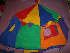 Bazoongi Circus Tent Only Enclosure #T11114 Canopy Indoor Playhouse Replacement