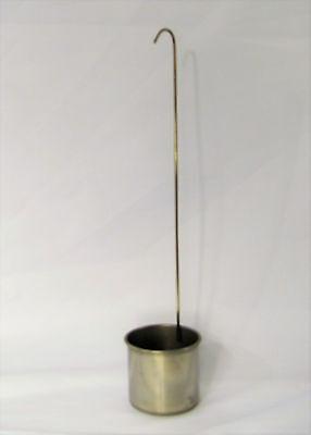 Stainless Steel Dipper Ladle Mini Pail Sampler Measuring