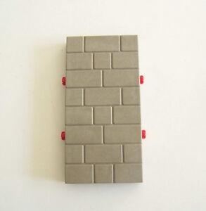PLAYMOBIL (L3297) MOYEN-AGE - Mur Gris Clair Château 3268 | eBay