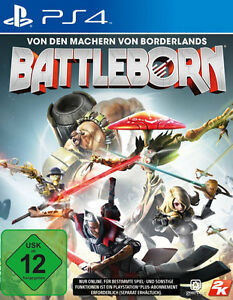 Battleborn-ps4/PlayStation 4-USK 12-nuevo & OVP