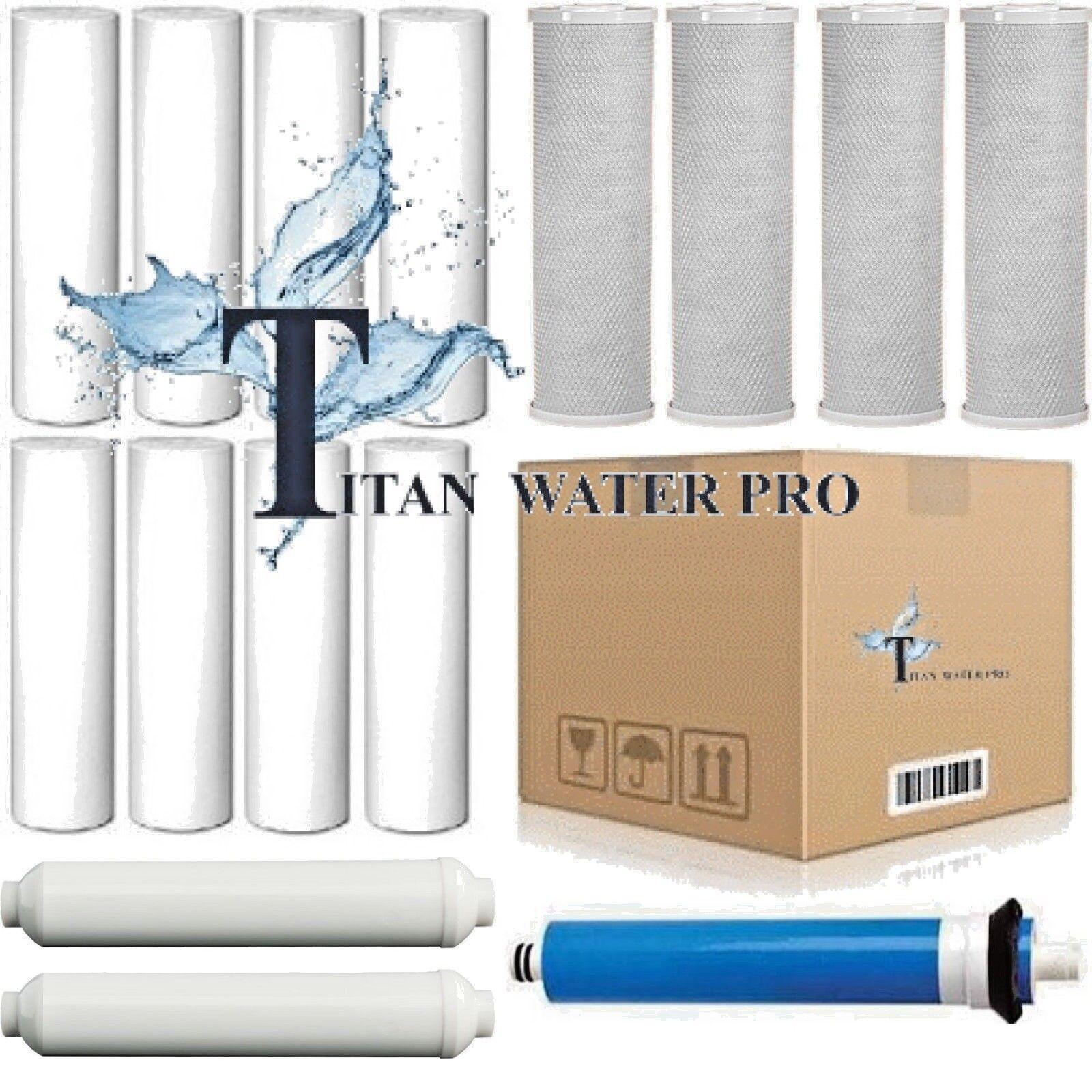15 pièces Osmose Inverse Osmose Inverse Remplacement Filtres à eau membrane 150 Gotham Police Department Membrane