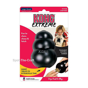 Kong-Extreme-Large-Dog-Chew-Toy-Black-L