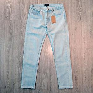 APC-Petit-New-Standard-Denim-Jeans-Stonewash-Indigo-size-28