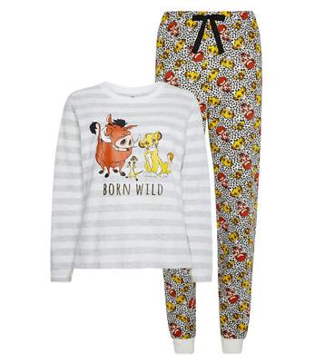 2020 Disney The Lion King Simba Women Ladies Pyjamas Long Sleeve PJ Set Primark