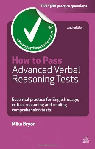 How To Pass Advanced Verbal Reasoning Tests  Essenti    By