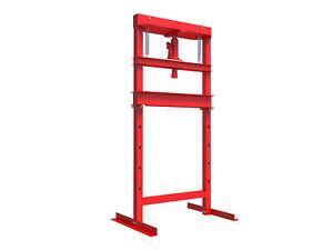 Hydraulic-Press-Plans-12-Ton-Build-Your-Own-Shop-Press-DIY-Work-Shop-Equipment