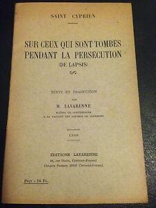SUR-CEUX-QUI-SONT-TOMBES-PENDANT-LA-PERSECUTION-de-SAINT-CYPRIEN-1940-EGLISE