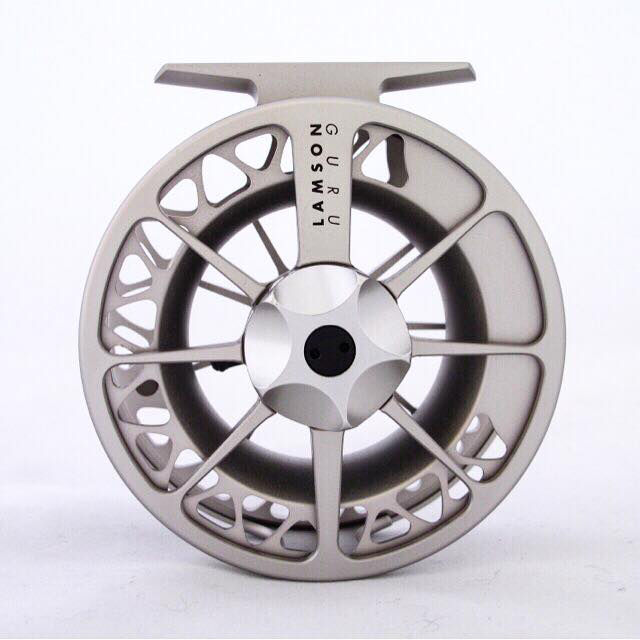 Lamson Guru Series II 4 Champagne Fly Reel NEW FREE SHIPPING