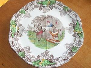 Vintage Antique Copeland Spode Spode's Byron Sandwich Plate No 1 1937