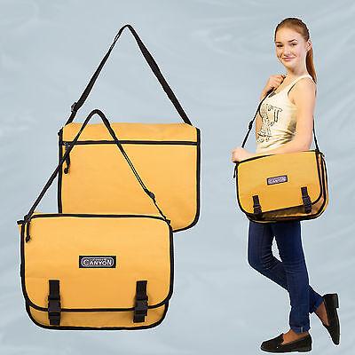Cool Unisex Borsa A Tracolla Messenger Bag Pratico Compagno-mostra Il Titolo Originale