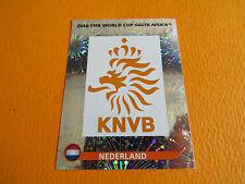 335 BADGE NEDERLAND KNVB PANINI FOOTBALL FIFA WORLD CUP 2010 COUPE DU MONDE