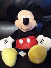 Rare Disney Store World Mickey Mouse Plush Cuddly Soft Toy Teddy Cartoon
