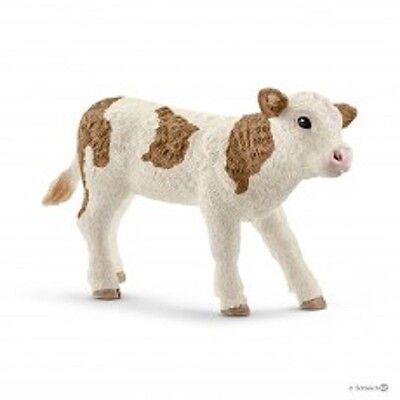 Schleich Toy Farm Animal Plastic Black Augus Calf 1//20 Scale