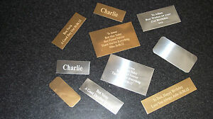 Trophy-Engraving-Plates-Name-Plaques-ENGRAVED-FREE-ONLY-99p-EACH