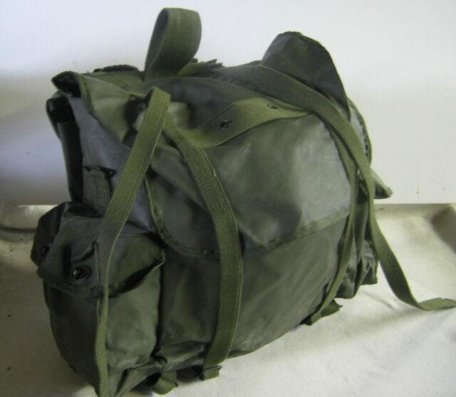 Grade 2 Belgian Army 40 Ltr Litre Waterproof Backpack Bag Military Surplus
