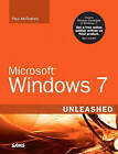 Microsoft Windows 7 Unleashed by Paul McFedries (Paperback, 2009)