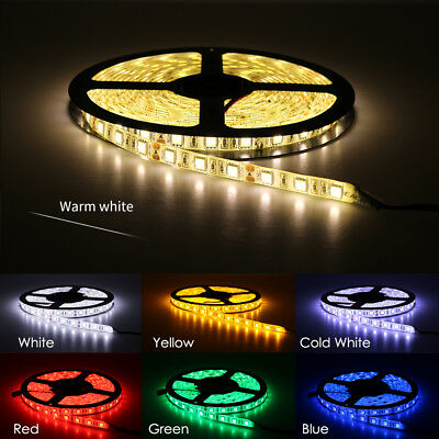 LED Strip 5050 DC12V 60LEDs//m Flexible LED Light RGB RGBW 300LEDs 5m//lot