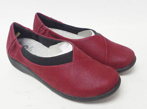 Clarks Shoes  Clarks Sillian Jetay Womens Loafers Cherry