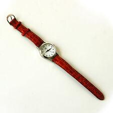 Orologio SK Pelle WATER RESISTANT STAINLESS STEEL BACK Vintage Clock Leather