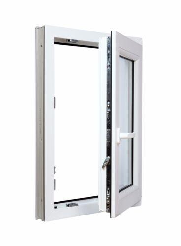viele Höhen Kellerfenster Kunststoff Fenster Dreh//Kipp Breite 600 mm weiß