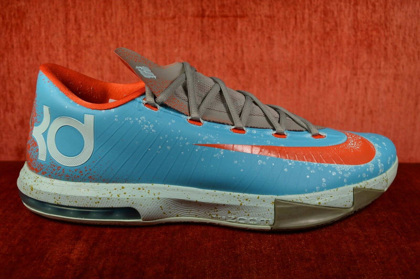 WORN ONCE Nike Kevin Durant KD 6 VI Size 13 Maryland bluee Crab Gamma 599424-400