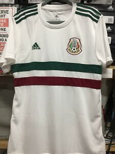 dd8c73c68 Adidas Mexico White Jersey Away 2018 Size Small Only 191034886156