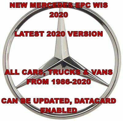 NEW 2020 Mercedes Workshop Manual WIS ASRA and EPC Dealer Service Repair