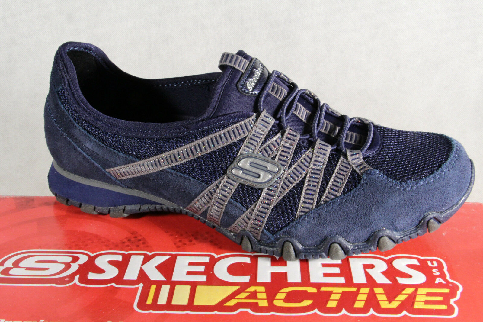 Skchers Slippers, Trainers  Sports scarpe blu New  migliore qualità